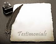 Cleaning Testimonial